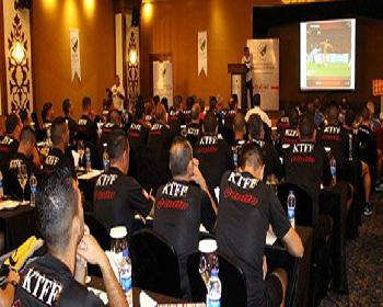 KTFF Girne Top Set Otelde Seminerde